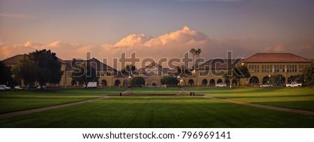 Stanford University Panorama