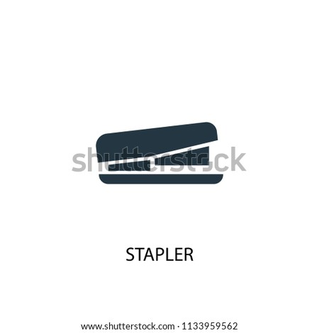 Stapler creative icon. Simple element illustration. Stapler concept symbol design from Workspace collection. Can be used for web and mobile.