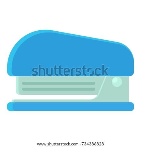 Stapler icon. cartoon illustration of stapler  icon for web