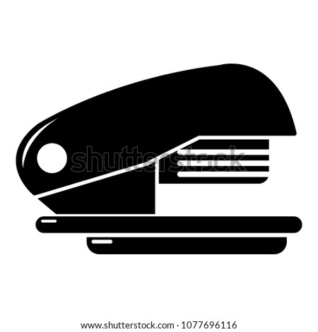Stapler icon. Simple illustration of stapler icon for web