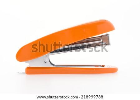Stapler isolated on white background