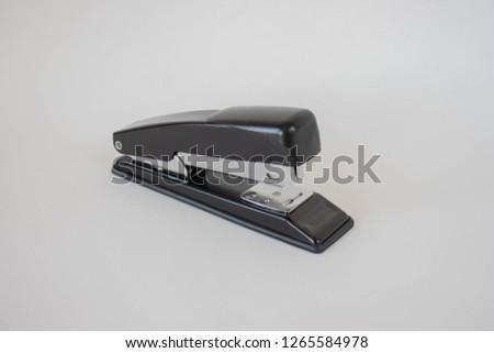 Stapler on a background