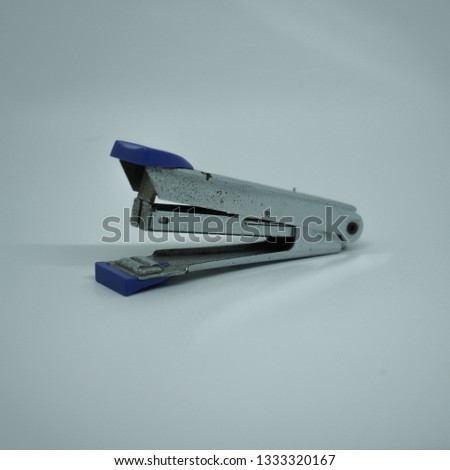 Stapler on a white backgraound