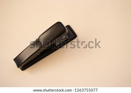 Stapler on a white background