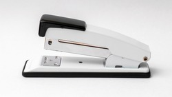 Stapler on a white background. Office accessories