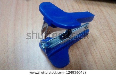 stapler pin remover - office stationery materials