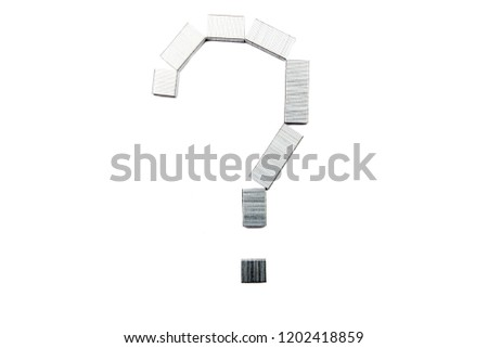Stapler question symbol
