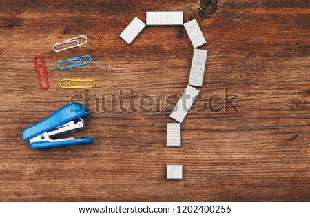Stapler question symbol table