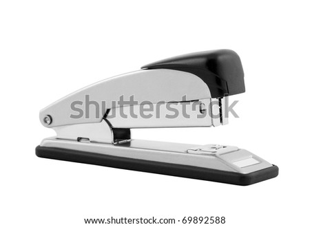 Stapler with clipping path
