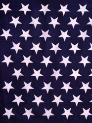 Star background in american flag colors