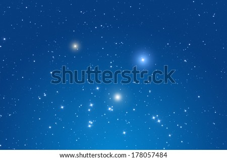 Star field in the Milky Way