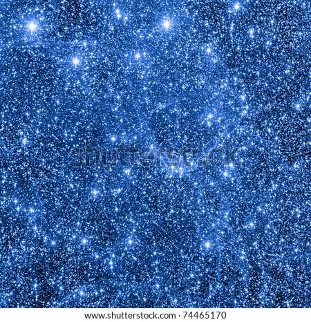 Star fields and interstellar nebulas