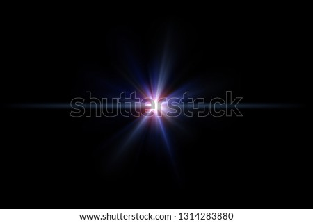 Star flare or Lens flare #1314283880