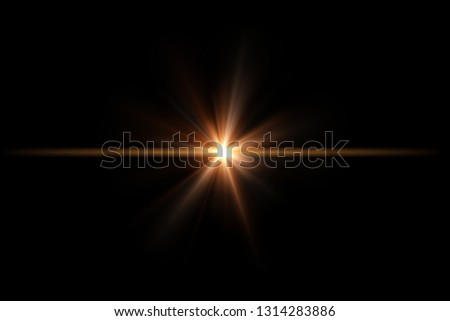 Star flare or Lens flare #1314283886