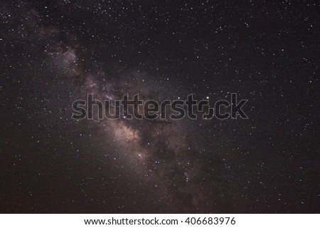 Star Galaxy on sky