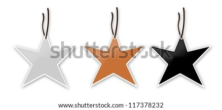 Star labels.