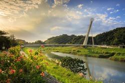 Star light Bridge New Taipei City in Taiwan