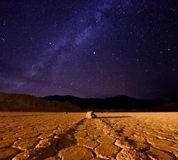 Star Milky Way Formation in Death Valley California