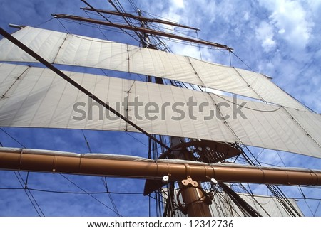 Star of India was built in 1863 as Euterpe, a full-rigged iron windjammer ship in Ramsey, Isle of Man.
