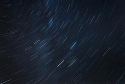Star trails night sky background image
