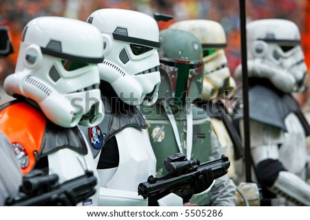 Star Wars Storm Troopers, The Force Awakens