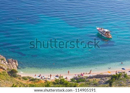 Stara Baska beach, Croatia