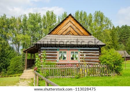 Stara Lubovna, Slovakia - an open air folk museum, old house