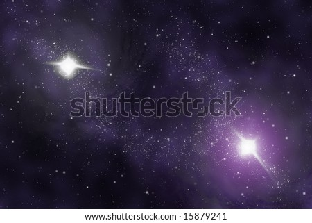 Starfield - Abstract universe - space nebula
