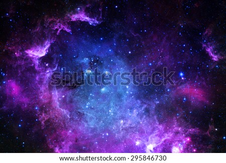 Starfield - Elements of this Image Furnished by NASA  - Shutterstock ID 295846730