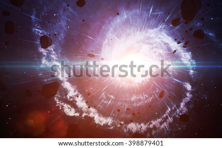 Starfield in deep space many light years far from the Earth. Elements of this image furnished by NASA Stockfoto ©