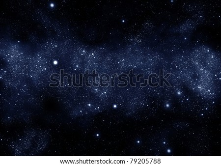 starfield milky way