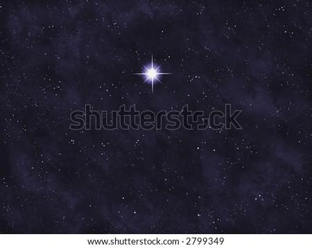 Starfield series: bright star.