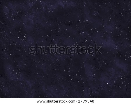 Starfield series: empty space.