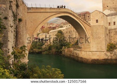 Stari Most, Mostar, Bosnia and Hercegovina