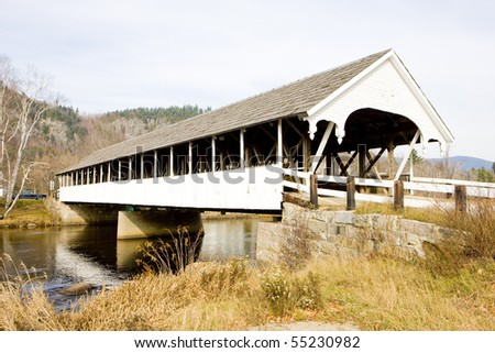 Stark Covered Bridge (1862), New Hampshire, USA