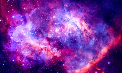Starry Nebula - Elements of this Image Furnished by NASA