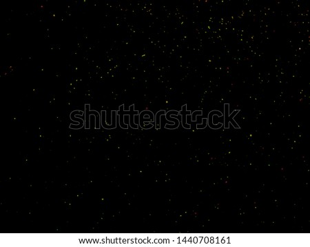 Starry night sky, A lot of Stars.  Background. Selective focus.Shallow dof. #1440708161