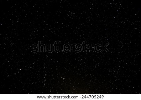 Starry Night Sky with a lot of Stars Background #244705249