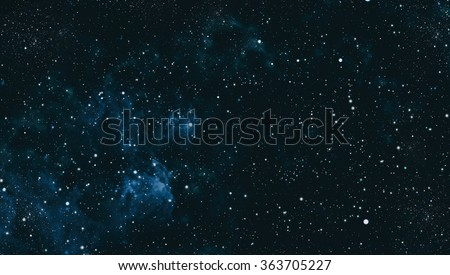 starry outer space  background...