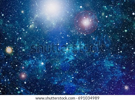 Starry outer space background texture ,