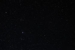 Starry sky summer a night