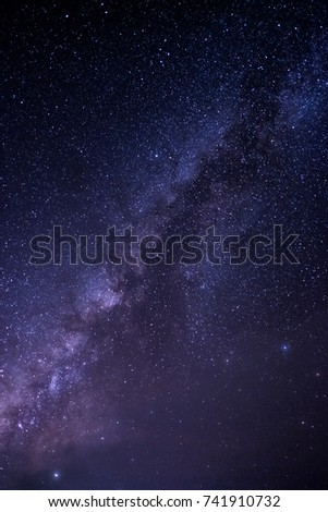 Stars and night sky #741910732