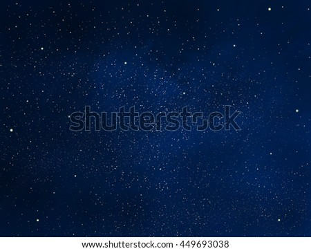 Stars and night sky as background - Shutterstock ID 449693038