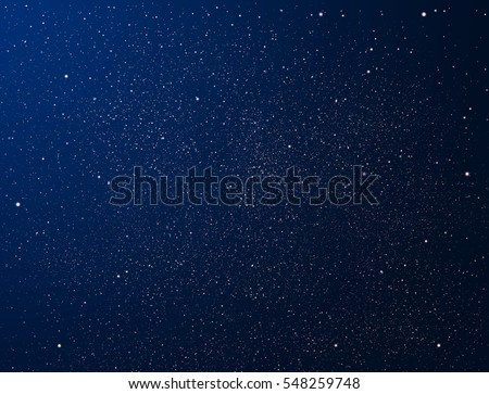 Stars and night sky as background - Shutterstock ID 548259748