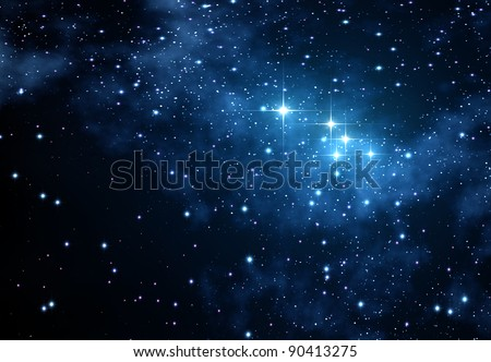 Stars Background, space texture with many stars for different projects