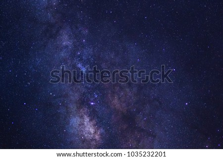 Stars in space dust in the universe and milky way galaxy  #1035232201