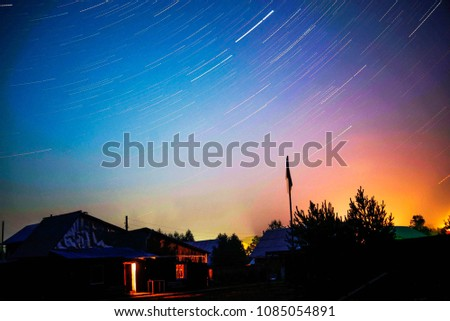 stars in the night sky #1085054891