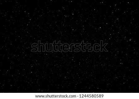Stars in the night sky background texture milky way glow of stars. The sky is in the stars. #1244580589