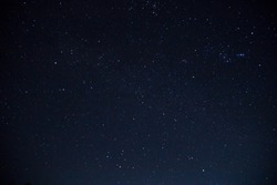 Stars in the sky at night Photos December 23, 2017, Thailand