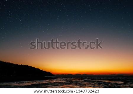 Stars Island Greece #1349732423